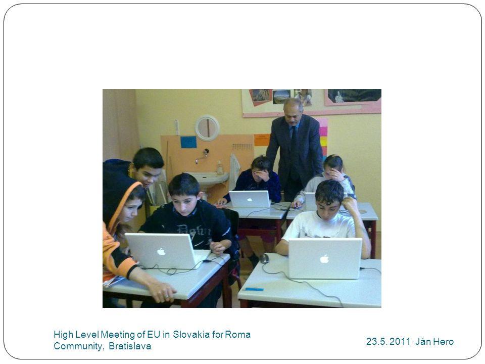 23.5. 2011 Ján Hero High Level Meeting of EU in Slovakia for Roma Community, Bratislava