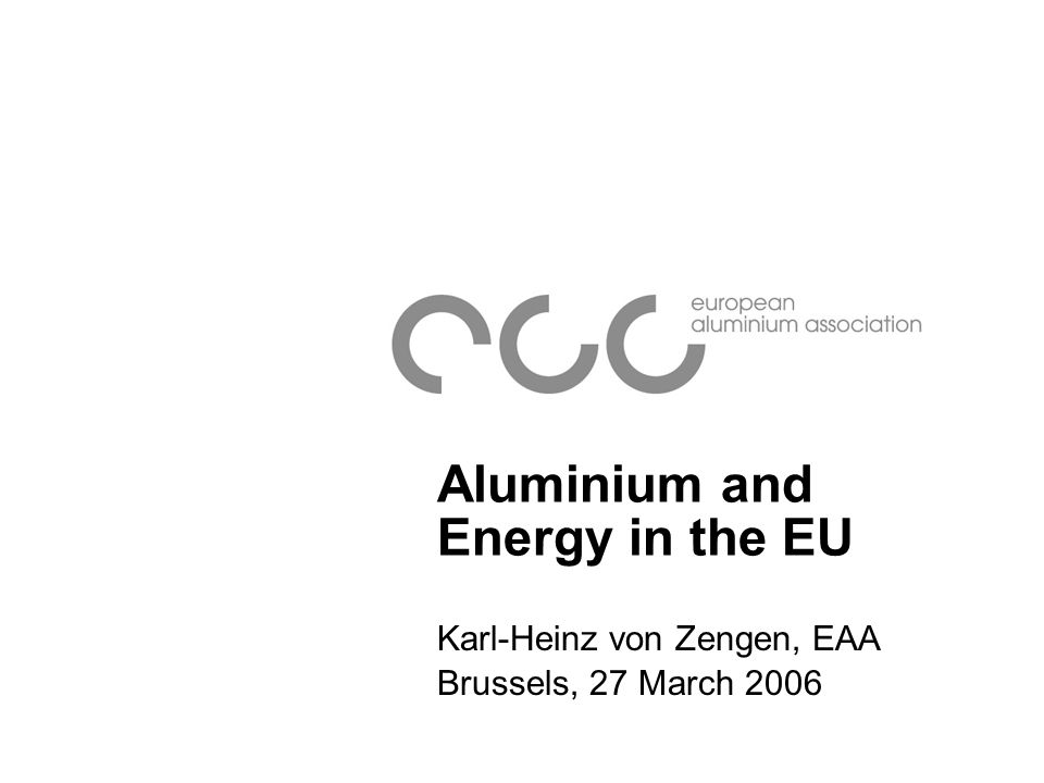 Aluminium End Uses - Europe 2001