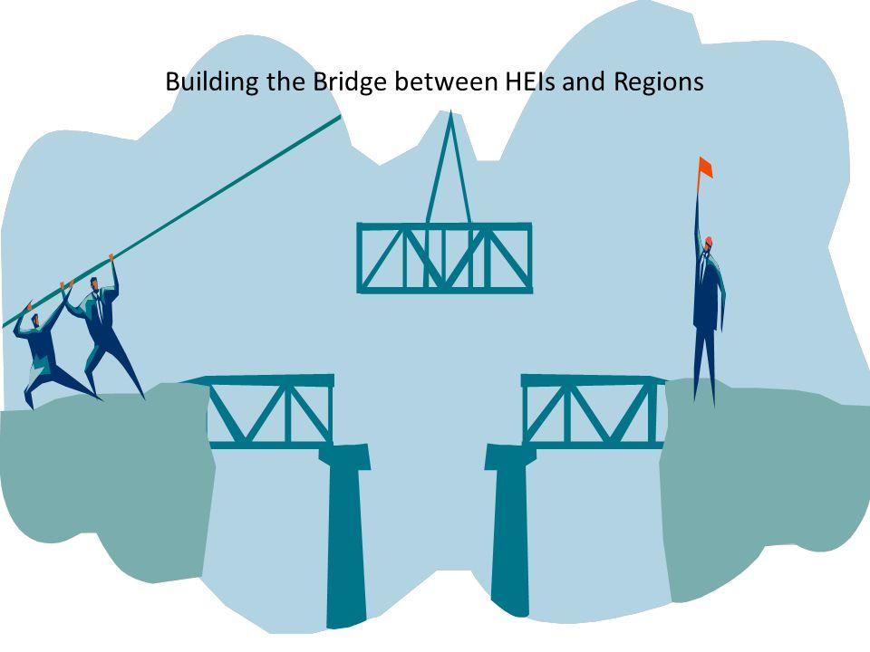 Building the Bridge between HEIs and Regions
