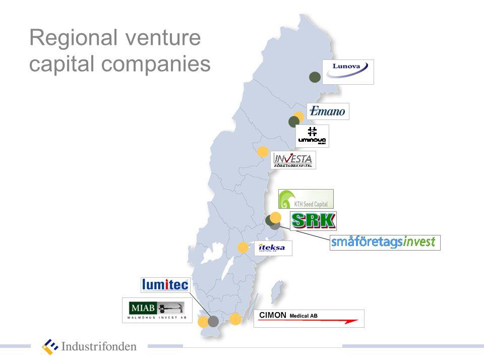 Regional venture capital companies