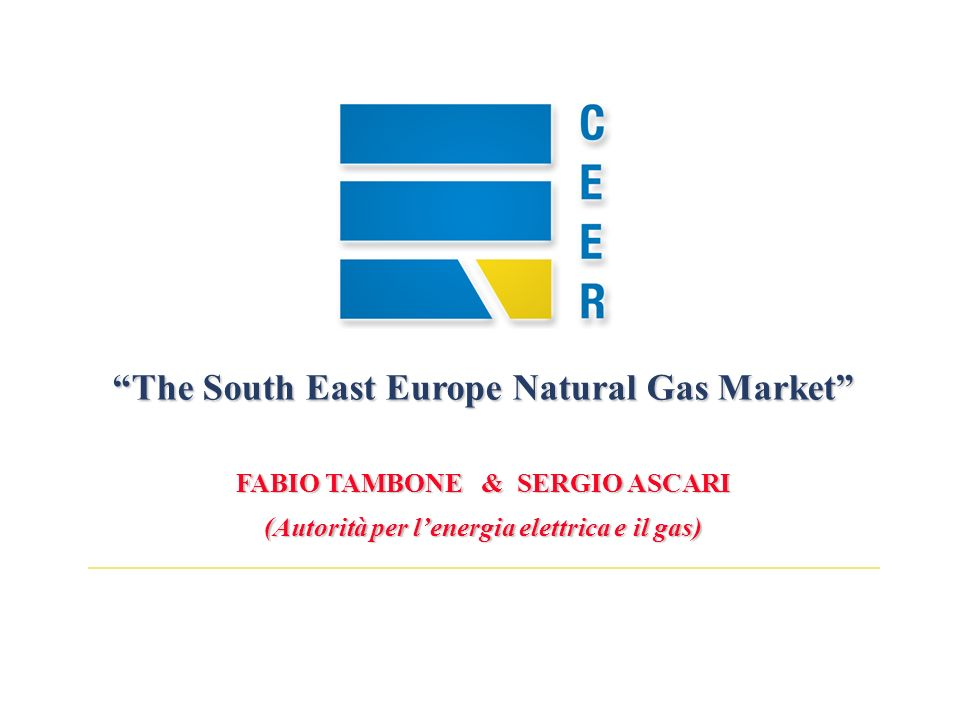 32 1) 1) An interconnected infrastructure is needed 2) 2) Harmonized and stable regulation to be provided for a common ECSEE market 3) 3) Cost reflective tariffs, transparent and non- discriminatory access to the system is required 4) 4) Promote new infrastructure in line with Directive 2003/55/EC SEE Natural gas : Challenges