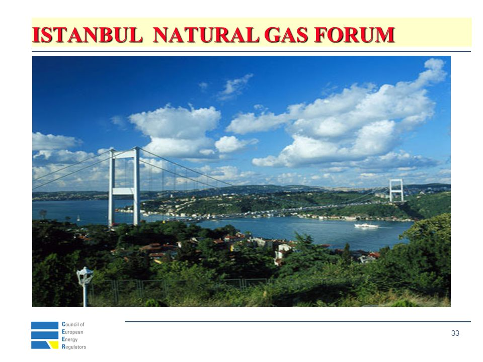 33 ISTANBUL NATURAL GAS FORUM