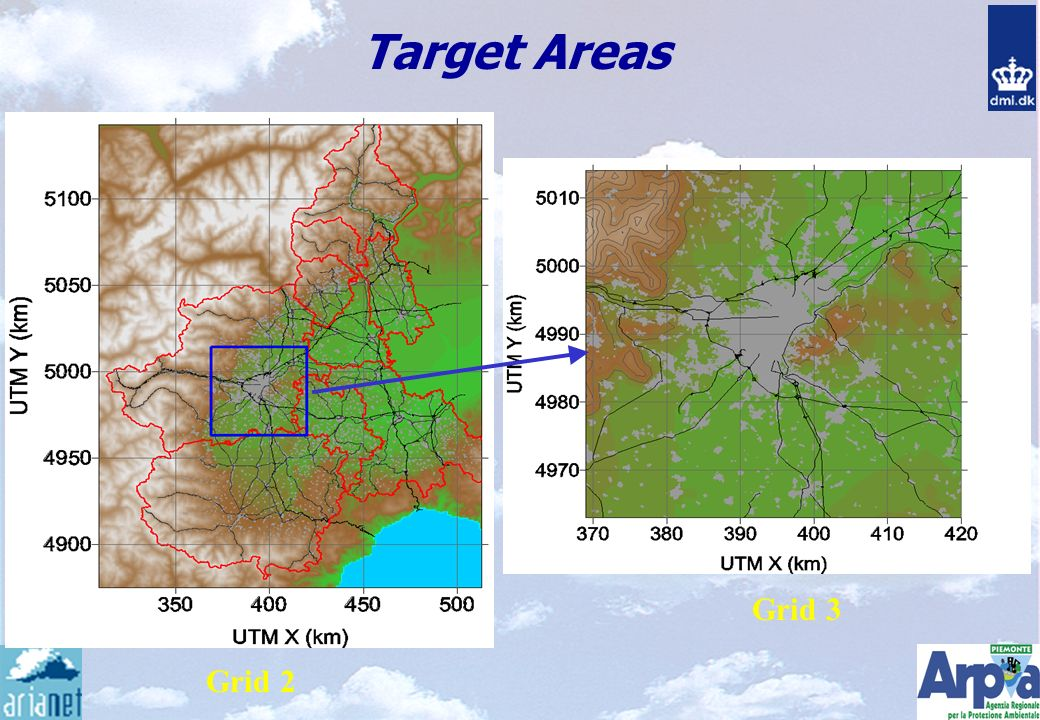 Target Areas Grid 2 Grid 3
