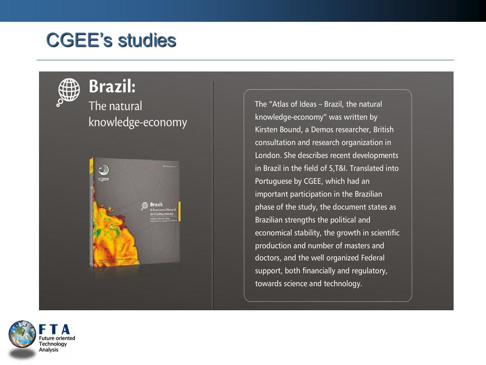 CGEEs studies