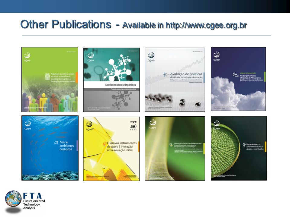 Other Publications - Available in