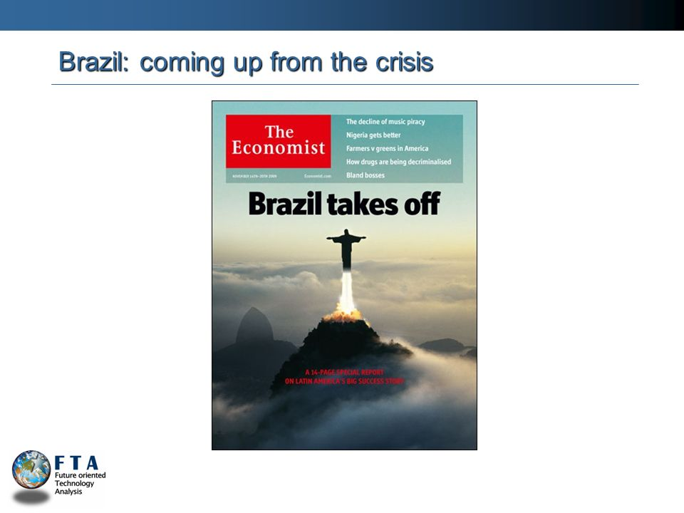 Brazil: coming up from the crisis