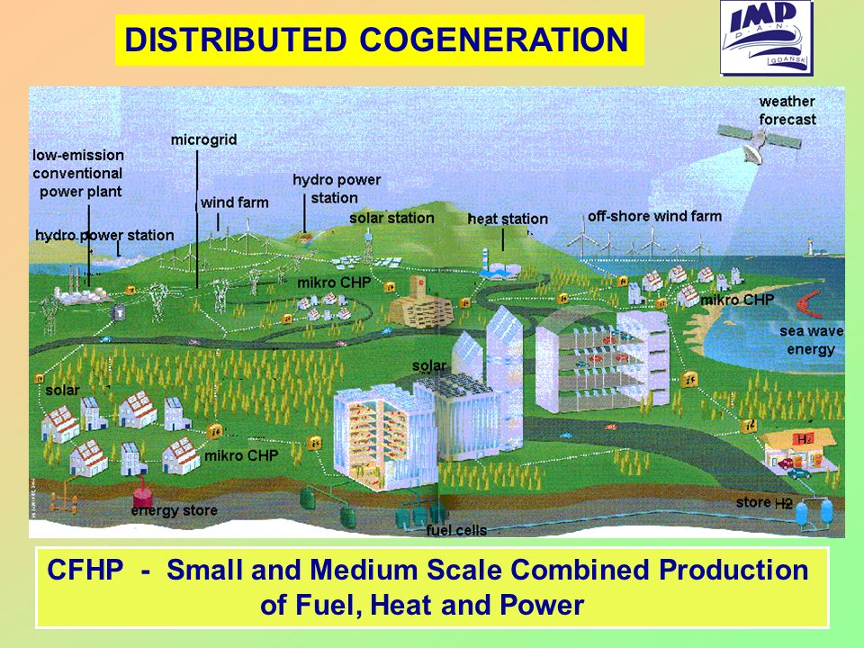 DISTRIBUTED COGENERATION CFHP - Small and Medium Scale Combined Production of Fuel, Heat and Power
