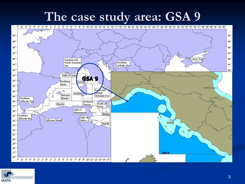 3 The case study area: GSA 9 GSA 9