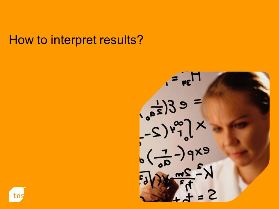 How to interpret results