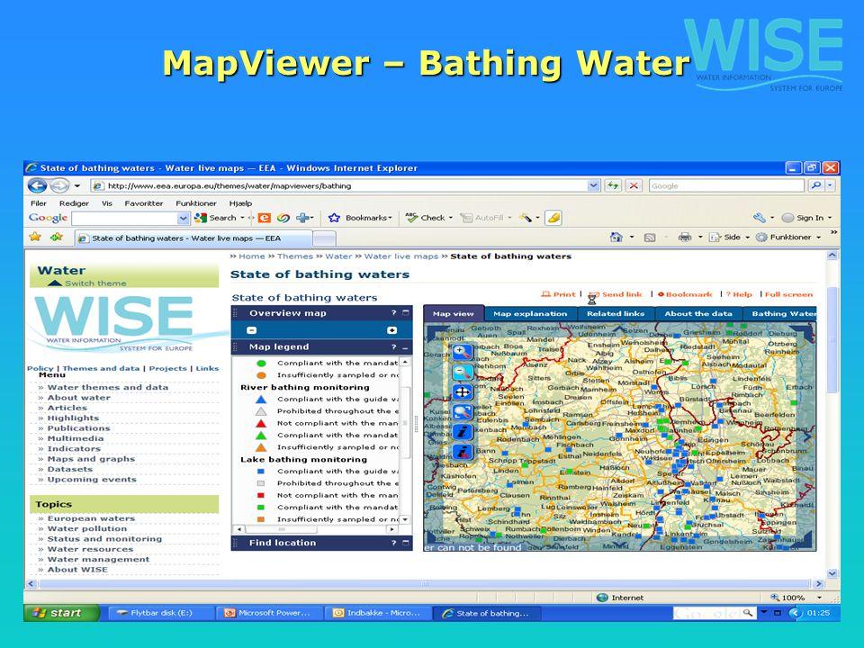 7 MapViewer – Bathing Water