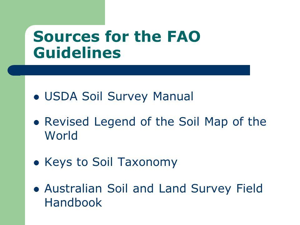Soil horizon description (11) : Voids (porosity) Voids include all space in the soil.
