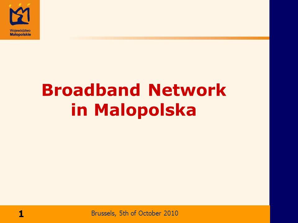 Ma l opolska Broadband Network Broadband Network in Malopolska Kraków, 2 kwietnia 2004 r.
