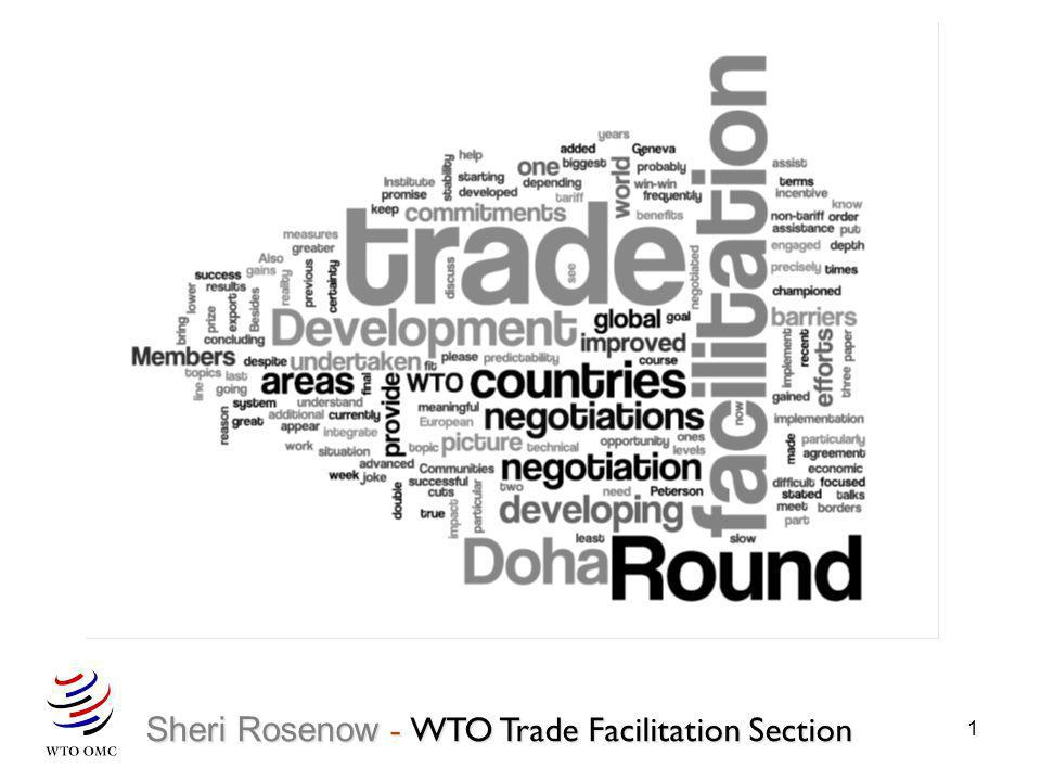 1 Sheri Rosenow - WTO Trade Facilitation Section