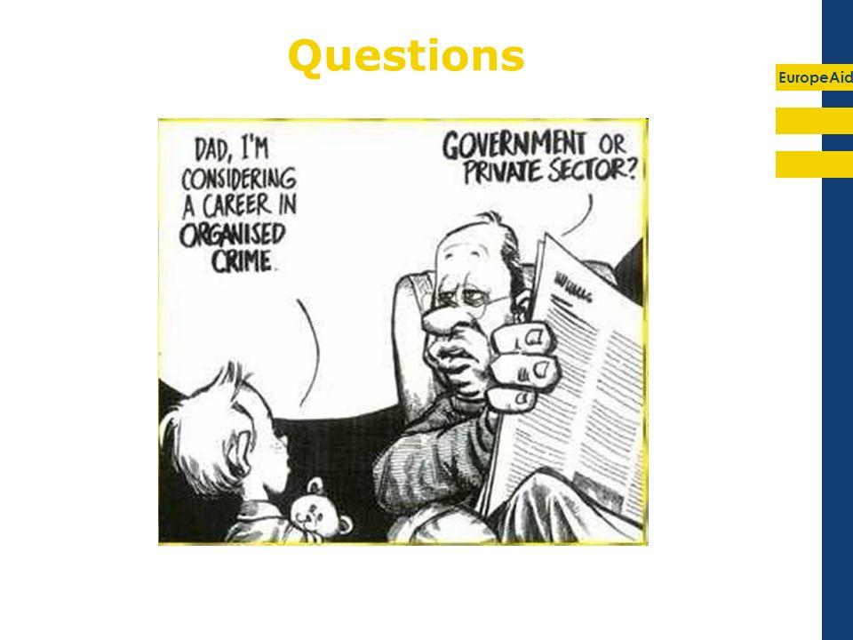 EuropeAid Questions