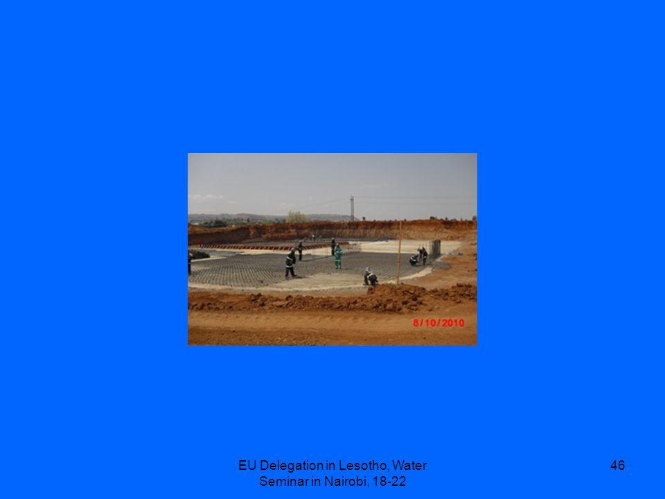 EU Delegation in Lesotho, Water Seminar in Nairobi, 18-22 46