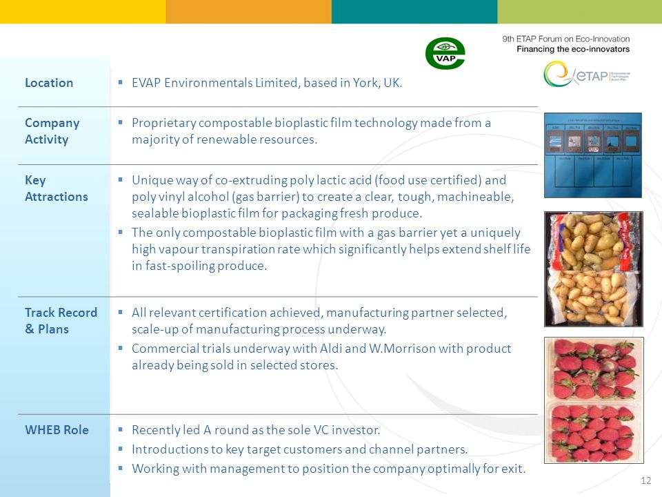 Location EVAP Environmentals Limited, based in York, UK.