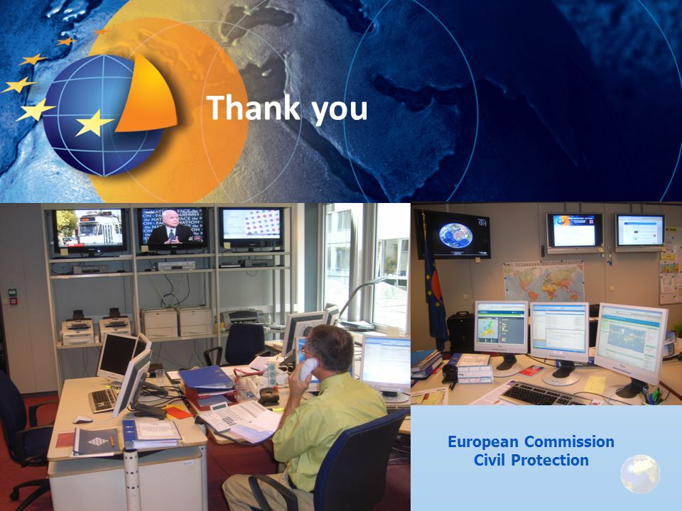 Thank you European Commission Civil Protection