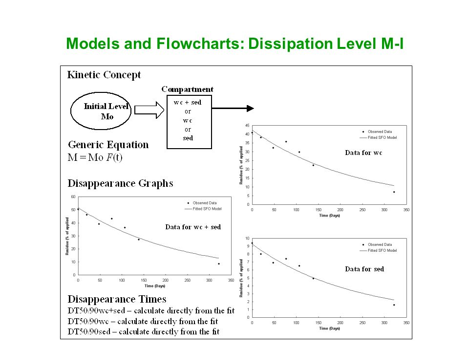Models and Flowcharts: Dissipation Level M-I