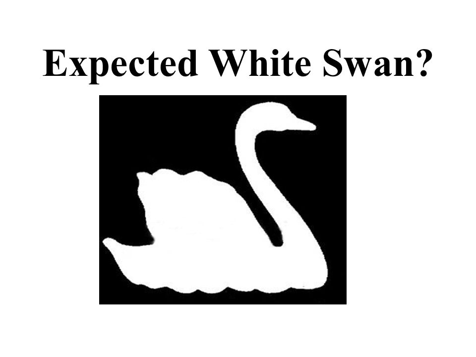Expected White Swan?
