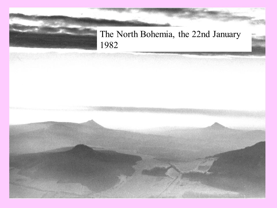 The North Bohemia, the 22nd January 1982