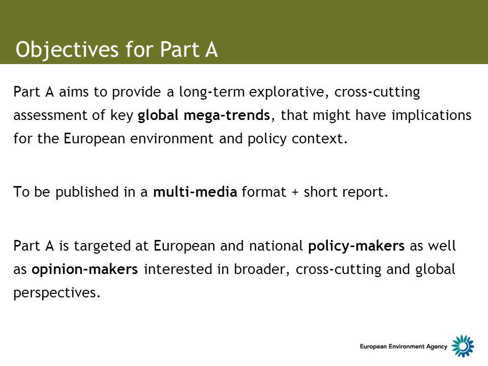 An exploratory assessment of global trends ? ? ? ? ? ? ? Europe in 2050 - smaller, leaner, smarter?