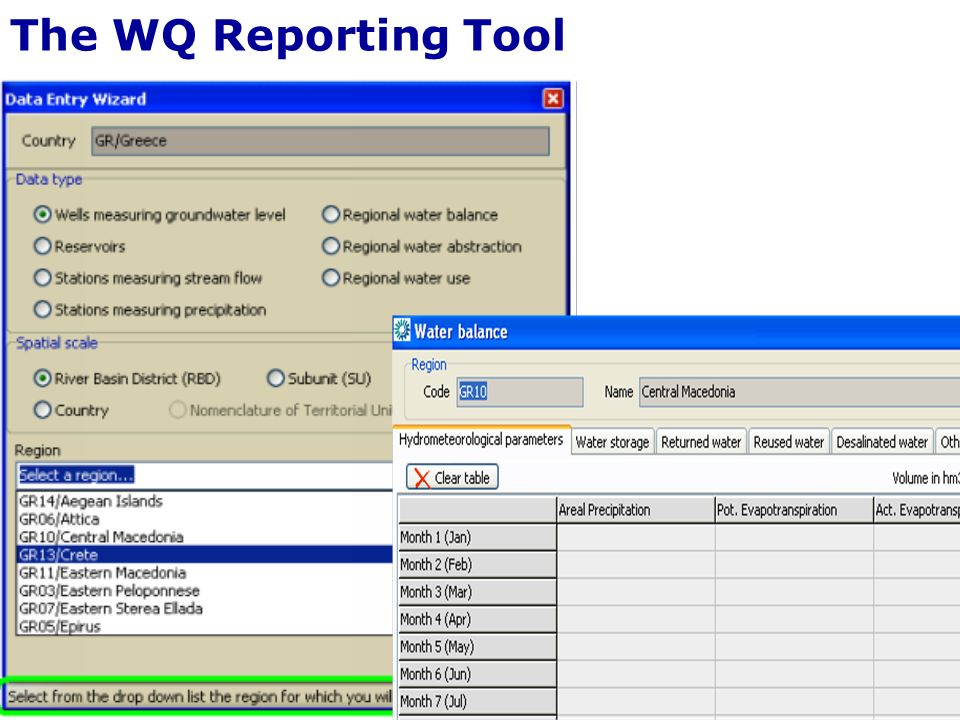 The WQ Reporting Tool