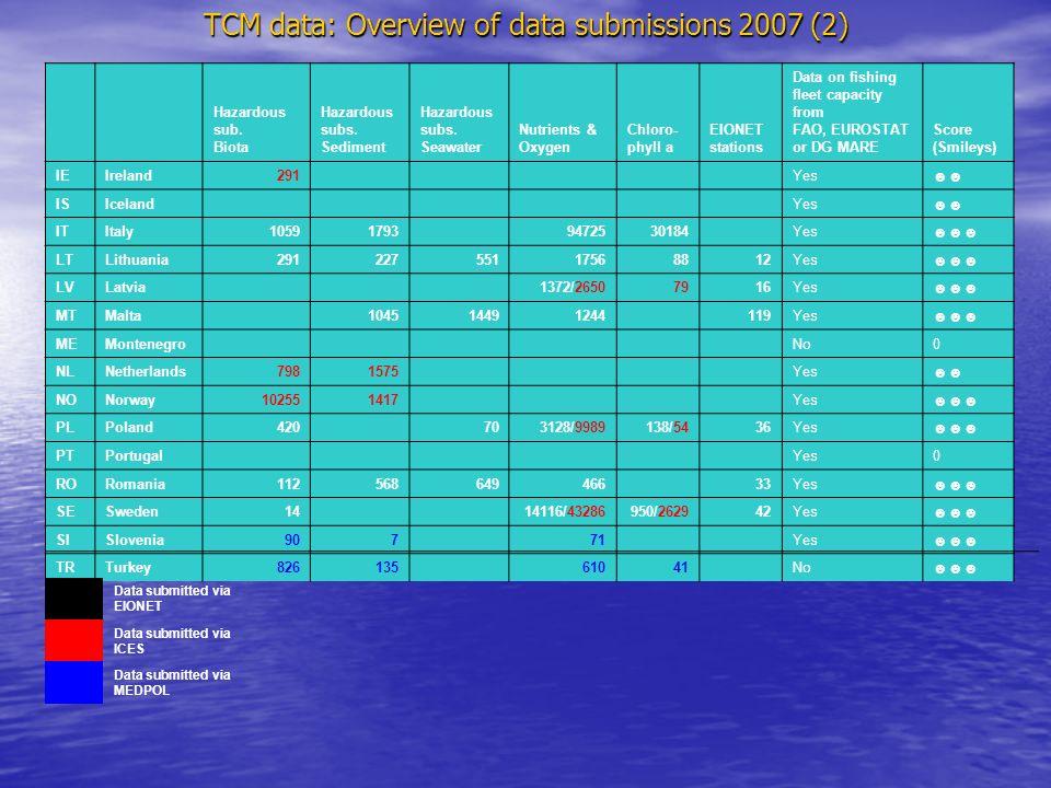 Spatial data coverage 2006 for CSI023 indicator