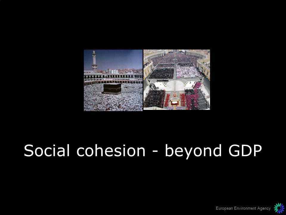 European Environment Agency Social cohesion - beyond GDP