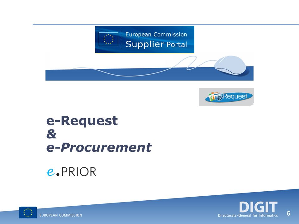 5 e-Request & e-Procurement