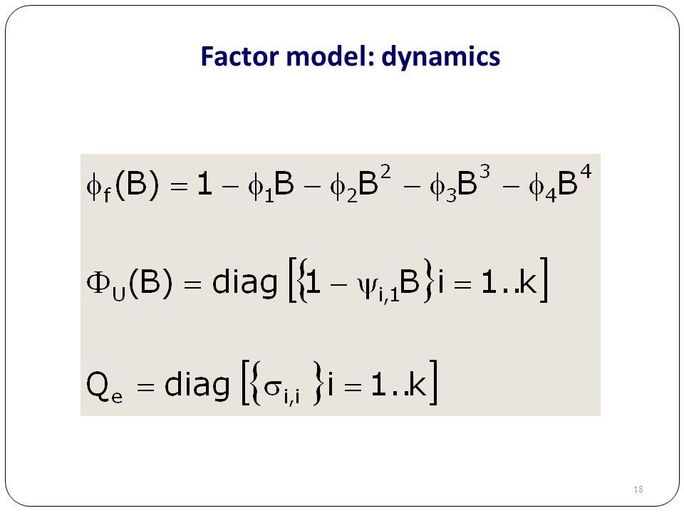Factor model: dynamics 18