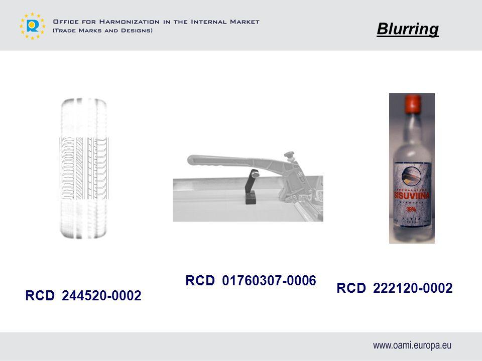 RCD 01760307-0006 RCD 222120-0002 RCD 244520-0002 Blurring