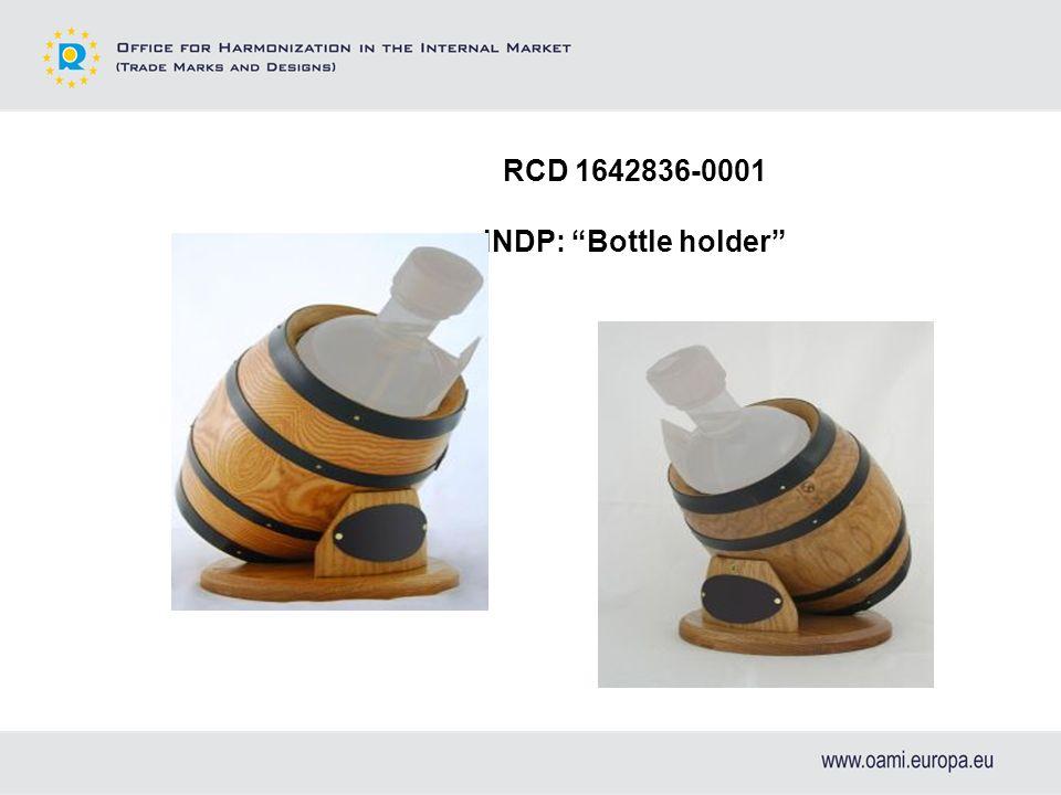 RCD 1642836-0001 INDP: Bottle holder