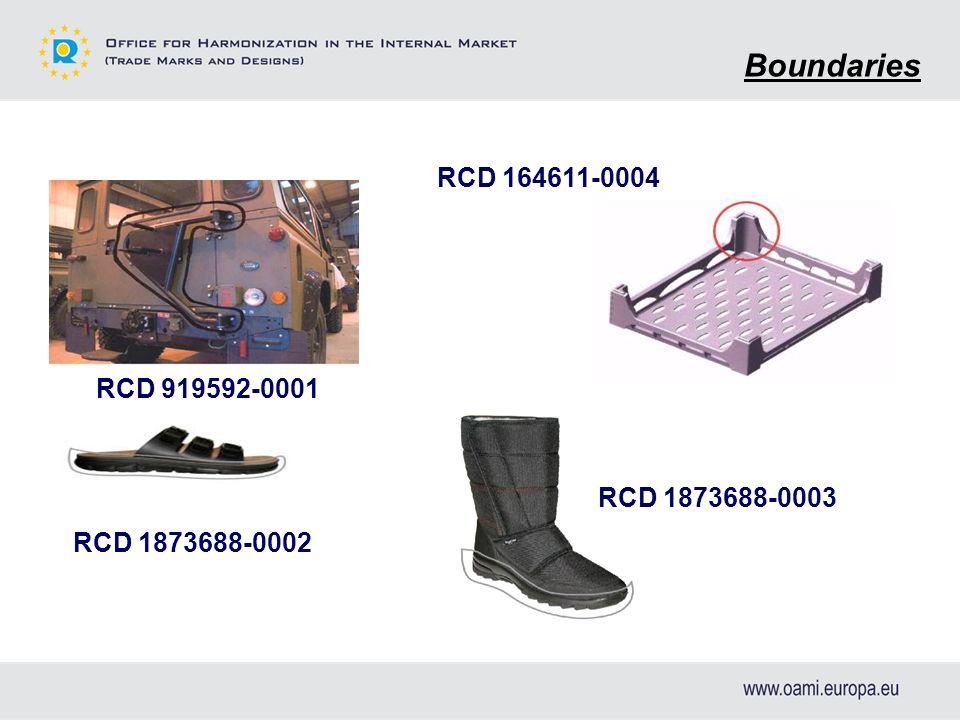 Boundaries RCD 919592-0001 RCD 164611-0004 RCD 1873688-0003 RCD 1873688-0002