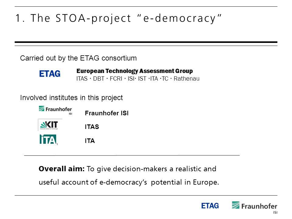 ETAG 1.