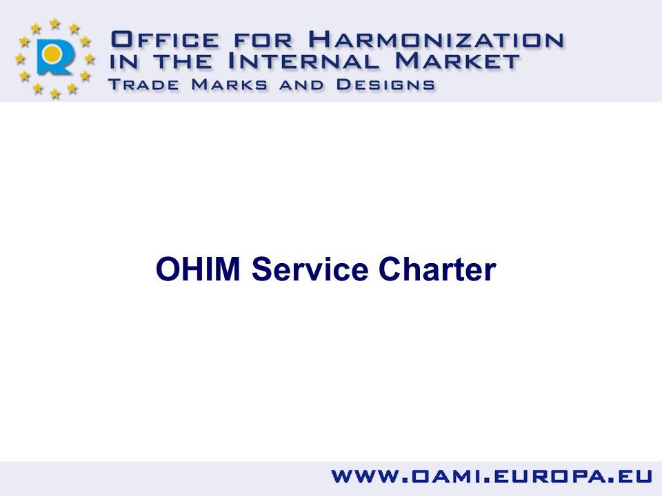 OHIM Service Charter