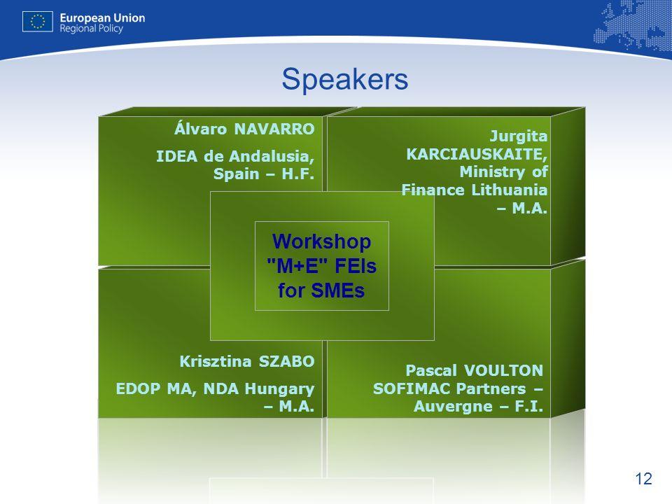 12 Speakers Krisztina SZABO EDOP MA, NDA Hungary – M.A.