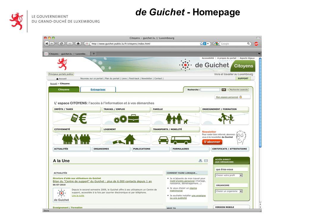 de Guichet - Homepage