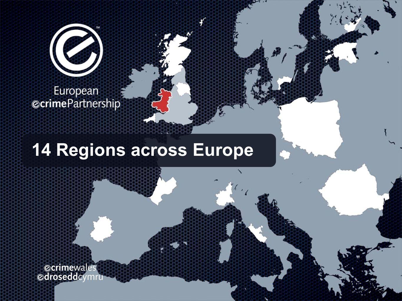 14 Regions across Europe