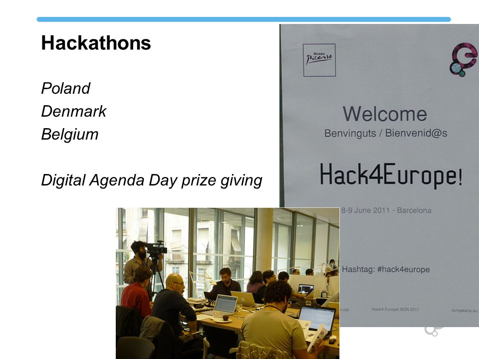 Hackathons Poland Denmark Belgium Digital Agenda Day prize giving