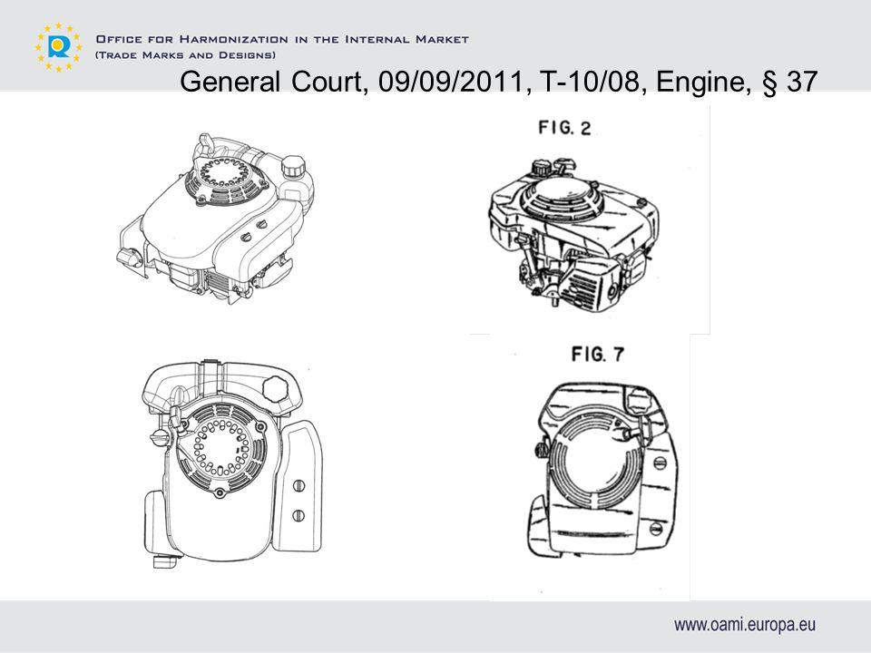 General Court, 09/09/2011, T-10/08, Engine, § 37