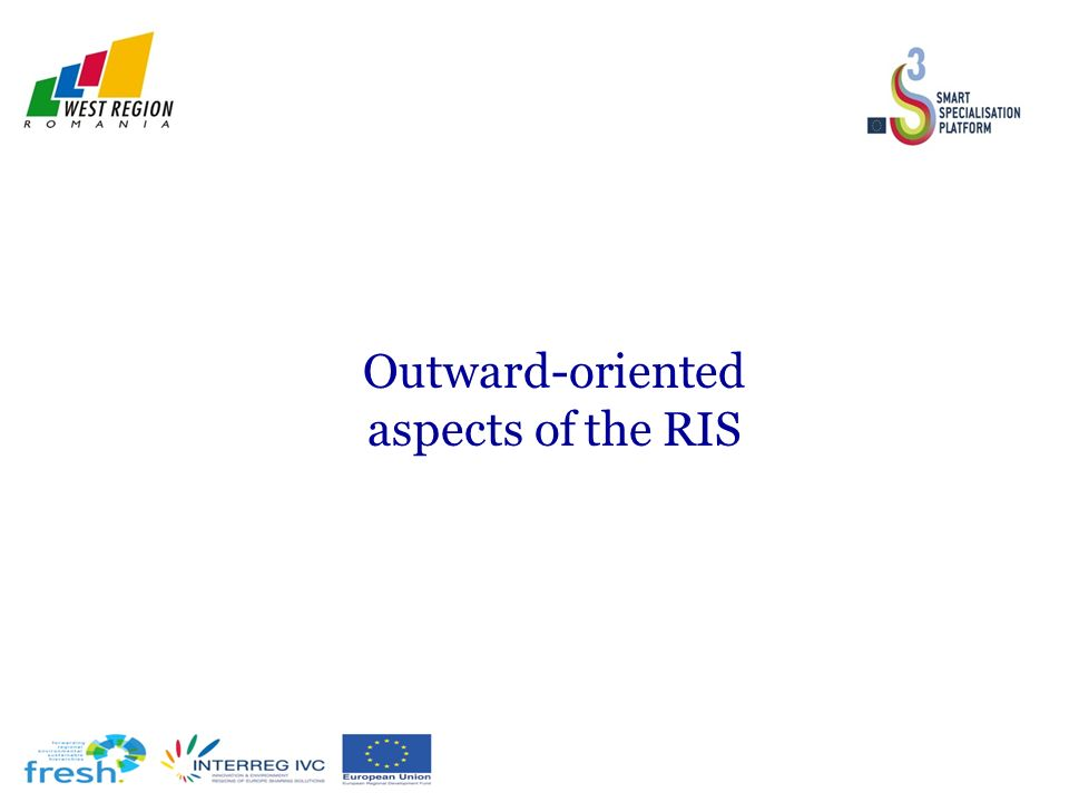 Outward-oriented aspects of the RIS