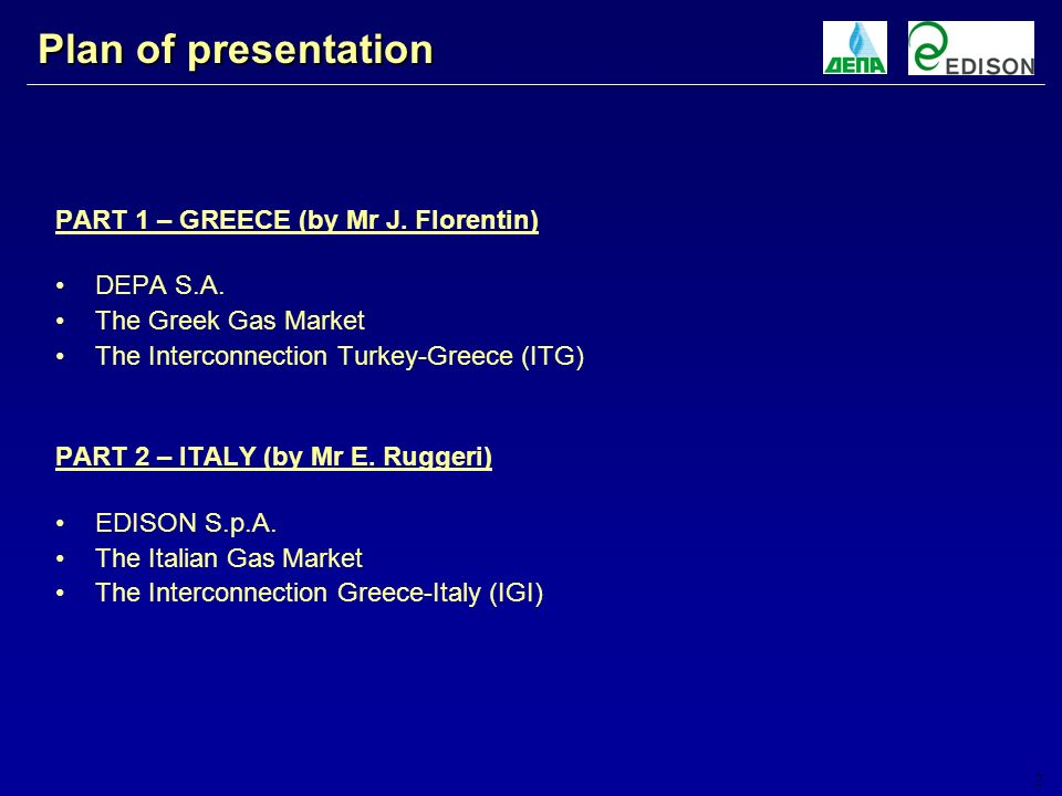 3 PART 1 – GREECE and the ITG Project by Mr J. Florentin