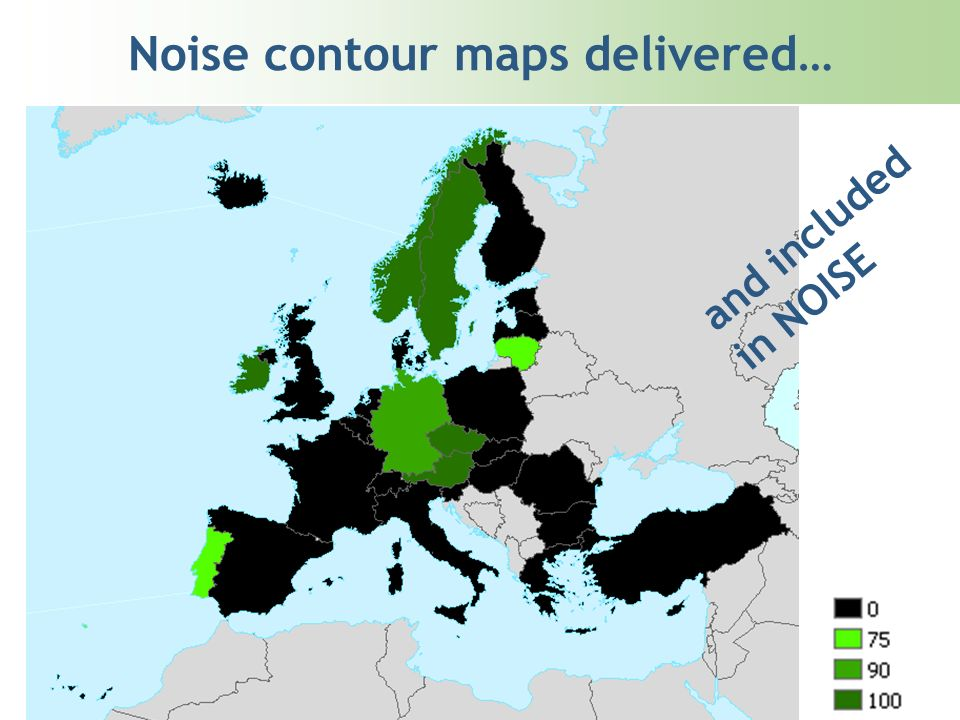 Noise contour maps delivered… and included in NOISE