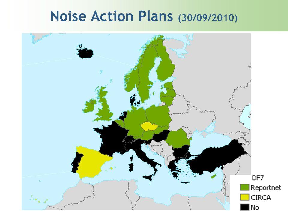 Noise Action Plans (30/09/2010)