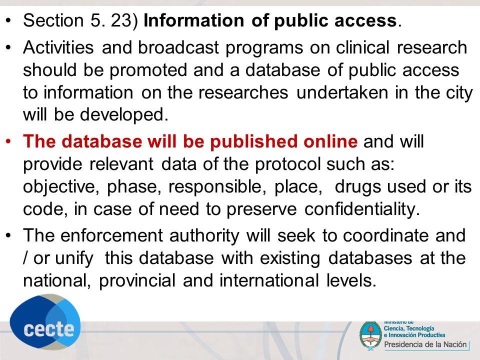 PROTECTING THE PUBLIC DOMAIN: ACCESS TO AND USE OF SCIENTIFIC DATA AND INFORMATION Comité Nacional de Ética en la Ciencia y la Tecnología, 2006