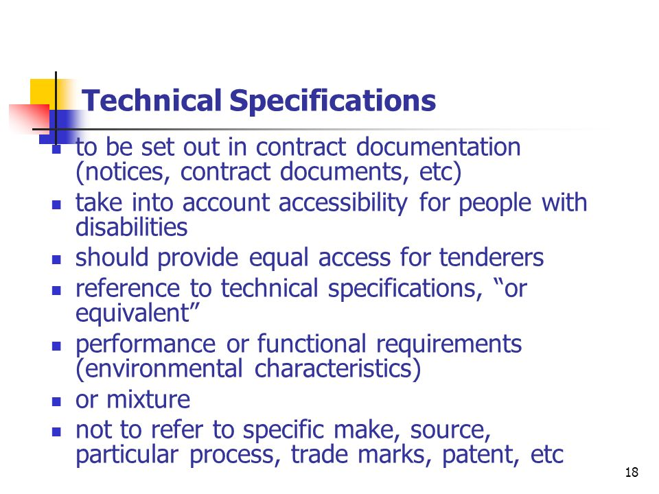 19 Public Sector Directive variants (only possible award criteria: most economically advantageous tender), stimulate innovation subcontracting in order to stimulate SME participation conditions for performance of contracts, social and environmental considerations New procedures/provisions/systems - competitive dialogue - framework agreements - dynamic purchasing systems