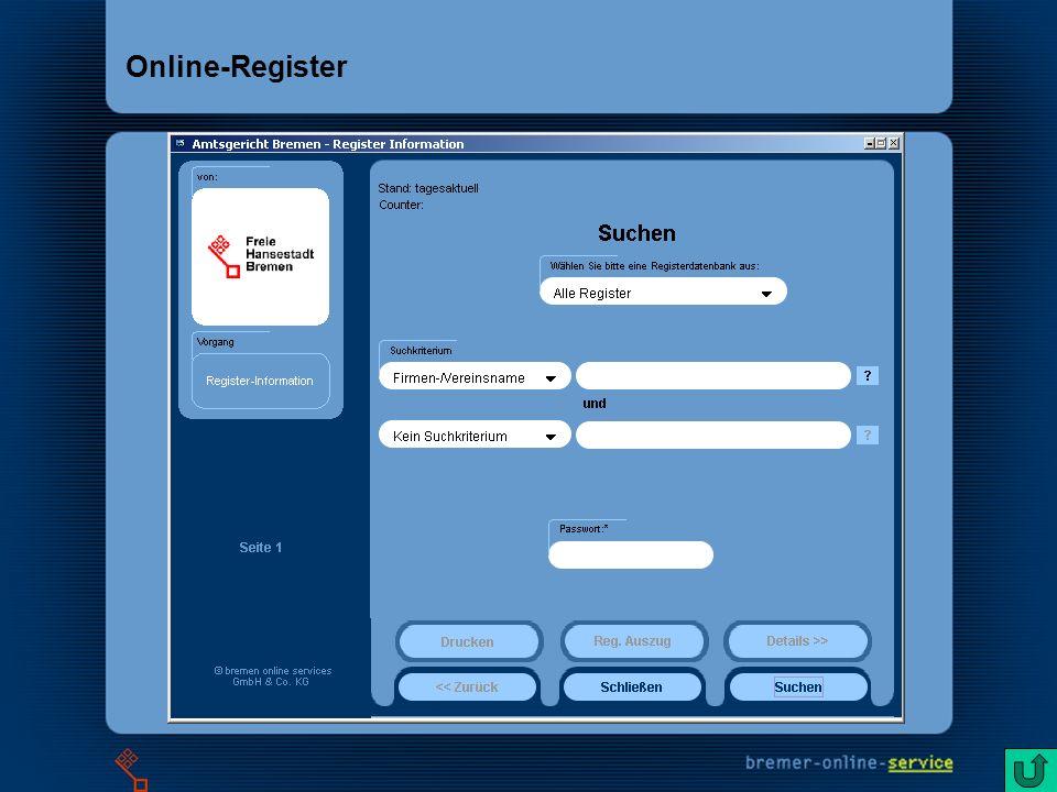 5 Online-Register
