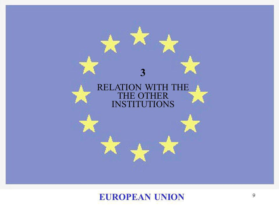 19 MEETINGS IN 2001: SWEDEN ITALY PORTUGAL GREECE FRANCE EUROPEAN UNION