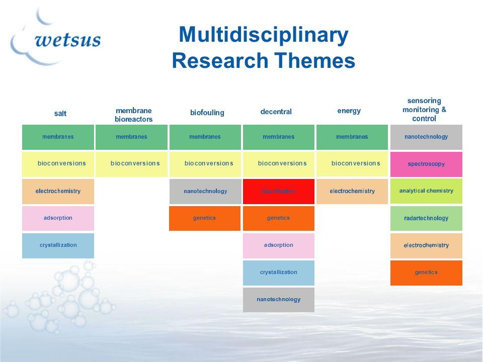Multidisciplinary Research Themes