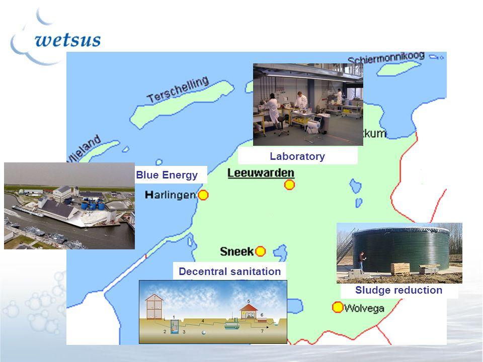 Decentral sanitation Blue Energy Sludge reduction Laboratory
